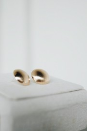 Bruna Round Earrings