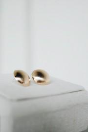 Bruna Round Earrings