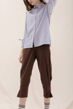 Brown Peg Pants