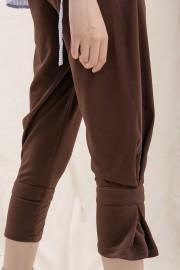 Brown Peg Pants