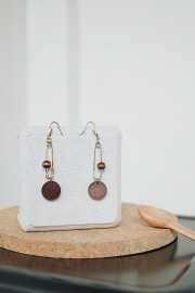 Daha Wood Earrings