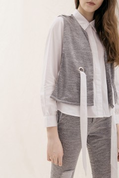 Grey Juna Shirt Set