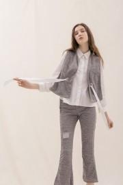 Grey Juna Shirt Set
