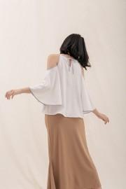 White Akane Top