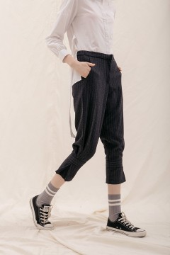 Pinstripes Peg Pants