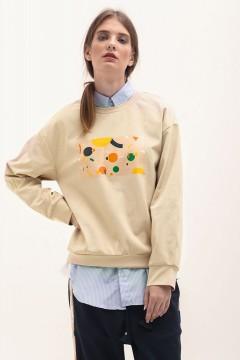 USX Creme Sweater