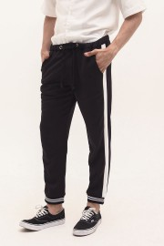Black Listed Jogger Pants