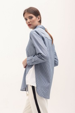 Dark Stripes Triangle Shirt