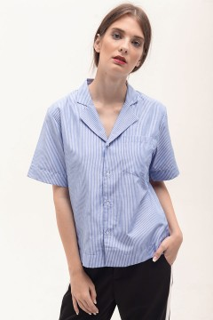 Soft Stripes Baseball Shirt
