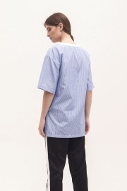 Soft Stripes Collage Shirt