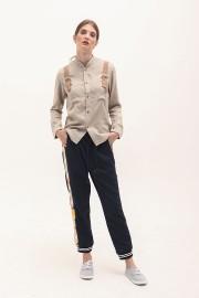 Khaki Buckled Shirt