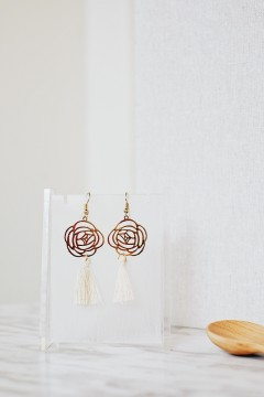 Creme Erina Earrings