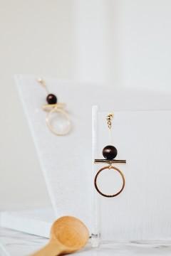 Huma Wood Earrings