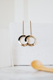 Giana Round Earrings