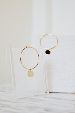 Reia Round Earrings