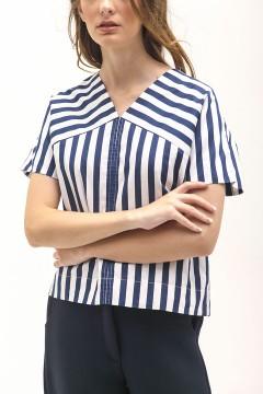 Navy Stripes Lula Top