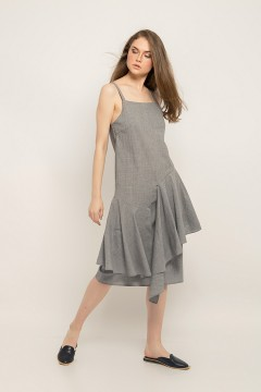 Grey Chloe Dress