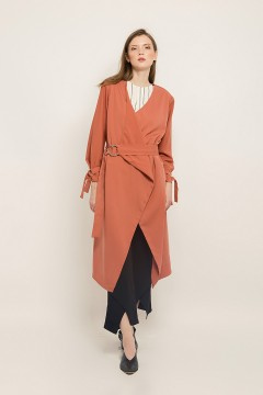 Coral Emma Outer Dress