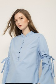 Blue Sofie Top