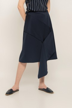 Navy Selma Skirt