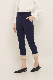 Navy Claire Pants