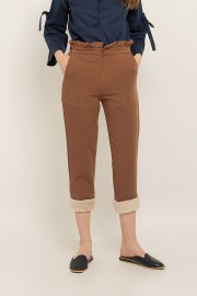 Brown Claire Pants