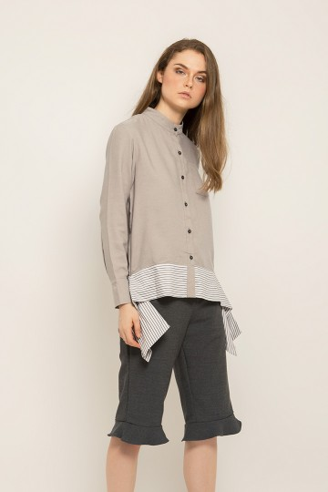 Grey Sienna Top