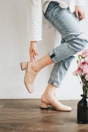 Pink Strappy Heels