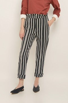 Stripes Eleanor Pants