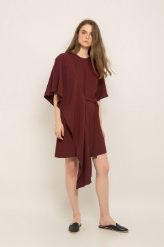 Maroon Tara Dress