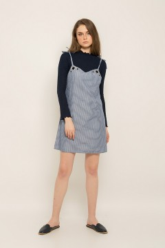 Navy Olivia Dress (set)