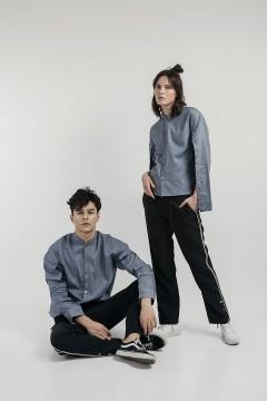 Denim Ultra Cape Shirt