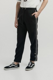 Black Erson Listed Pants