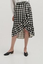 Checked Althea Skirt