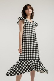 Checked Willow Dress