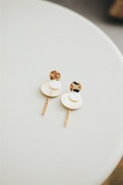 Gold Brielle Earrings