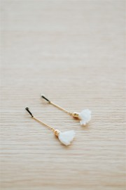 White Amerie Earrings