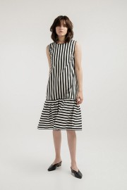 Stripes Belle Dress