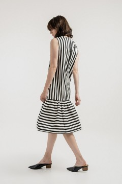Stripes Belle Dress