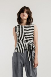 Stripes Kayla Top
