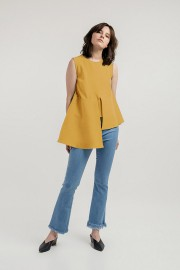 Mustard Laurent Top