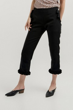 Black Lena Pants