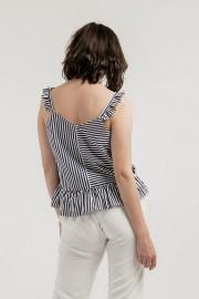Stripes Sophia Top