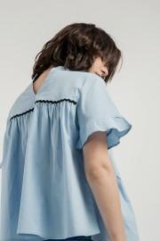 Blue Gemma Top