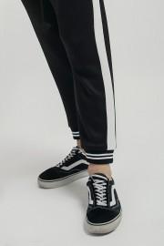 Black Listed Jogger Pants