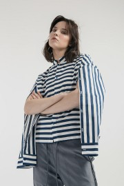 Stripes Ultra Cape Shirt