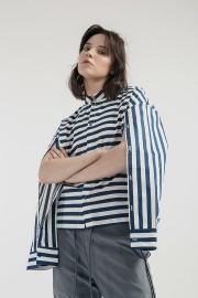 Stripes Ultra Cape Shirt