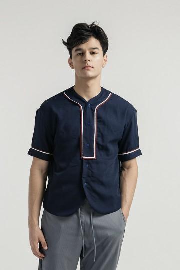 Navy Luka Baseball Shirt