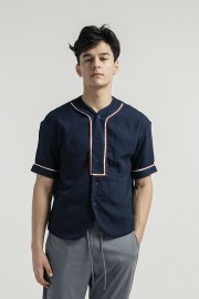 Navy Luka Baseball Shirt