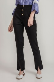 Black Elliot Pants